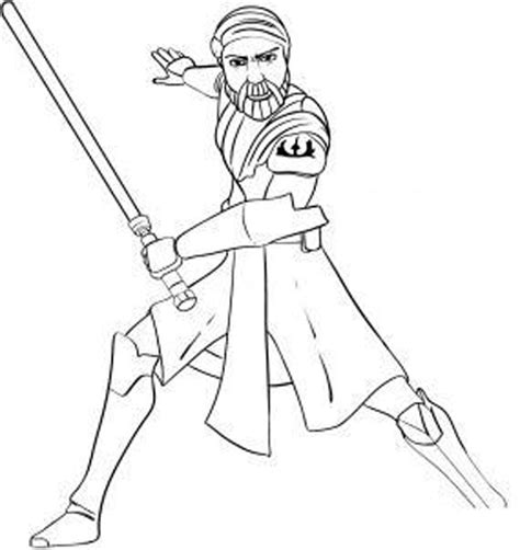 Coloring Pages Of Star Wars The Clone Wars | star wars the clone wars coloring pages printable