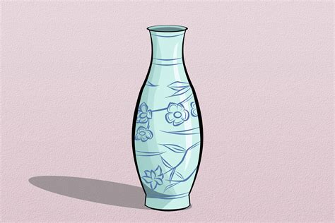 Sketch Of A Vase by How To Draw A Vase 5 Steps With Pictures Wikihow