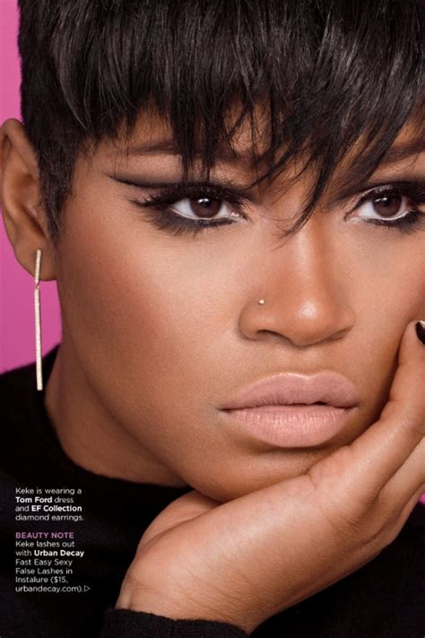 essence short hair gallery photos keke palmer essence magazine january 2015 issue