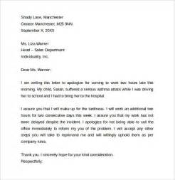 Reply Business Apology Letter apology letters for being late to download for free