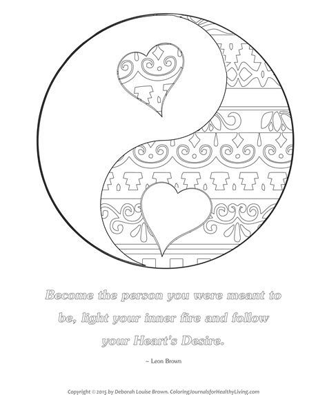 printable coloring pages yin yang yin yang boho coloring book coloring pages