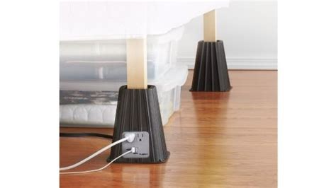 Bed Risers With Outlets by Bed Risers With Outlets Gadgets Tech