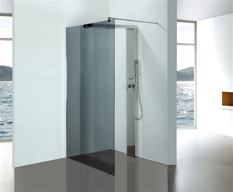 Stainless Steel Shower by Grey Glass Bathroom Shower Enclosures With Stainless Steel