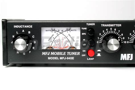 Tuner Uk by Mfj 945e Antenna Tuner 1 8 60mhz Mobile 300w Xmtr Ant Byp