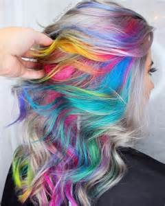 colored hair dye 28 rainbow hair color ideas for 2017