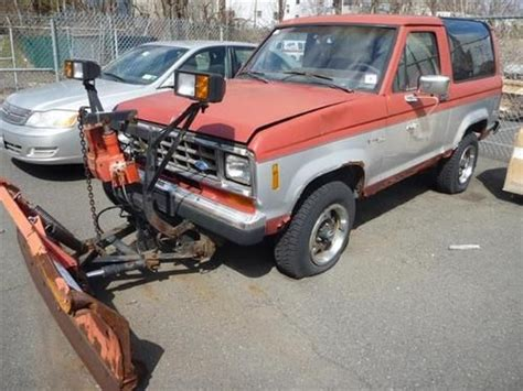 ford maplewood nj buy used 1987 ford bronco ii xlt project truck in