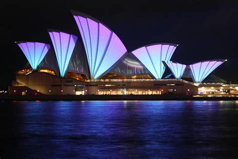 Sydney City And Suburbs Sydney Opera House Vivid Lights Sydney Suburbs