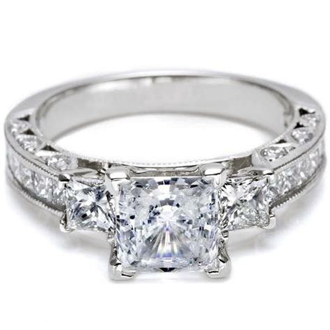 unique princess cut rings images pictures fashion gallery