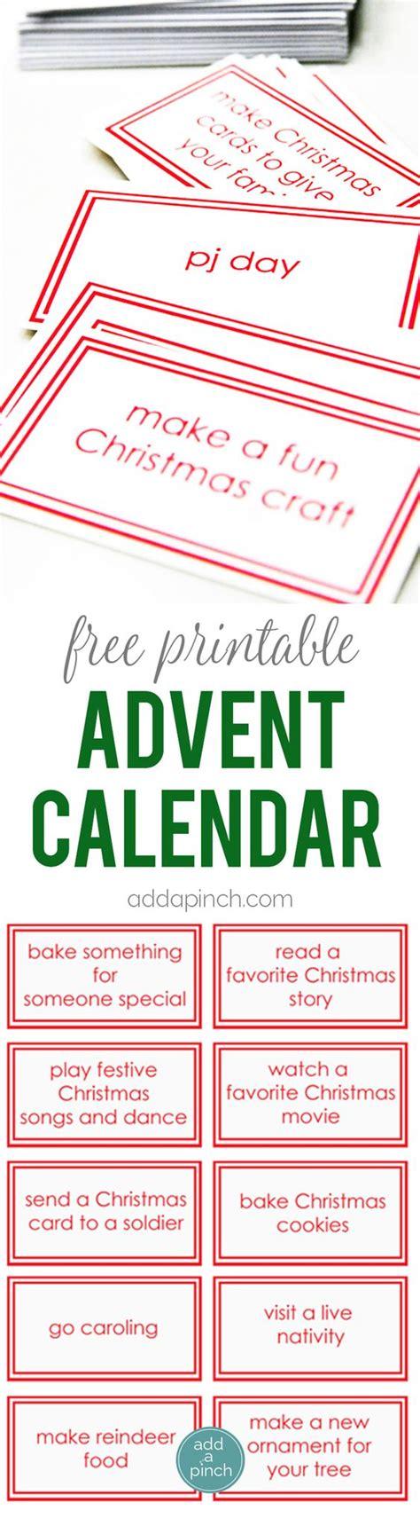 printable advent calendar pinterest advent calendar calendar printable and advent on pinterest