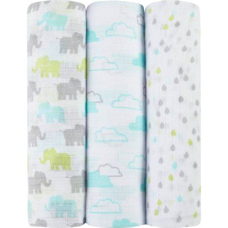 Ideal Baby 3 Pack Swaddles by Ideal Baby By The Makers Of Aden Anais Muslin Swaddles