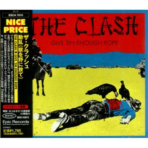 Clash Give Em Enough Rope Cd clash give em enough rope records lps vinyl and cds musicstack