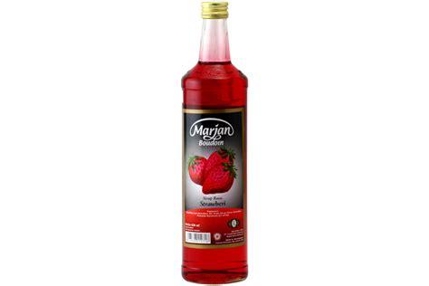 Marjan Syrup strawberry syrup sirup rasa strawberi 22fl oz s gallery