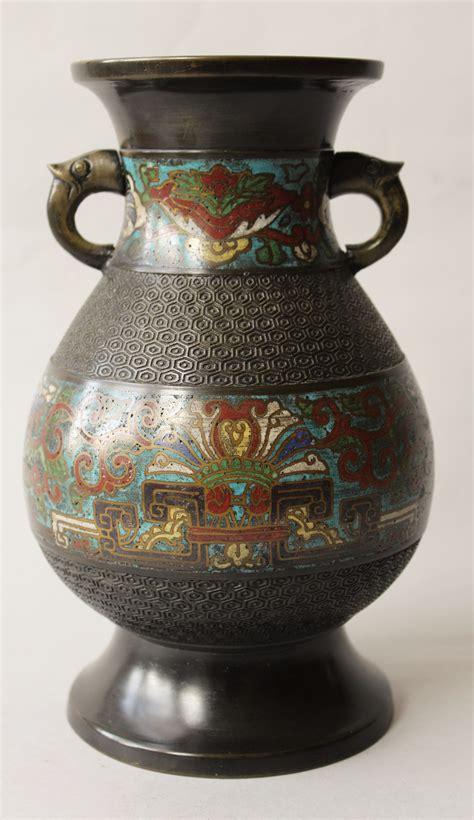 Provincial Vases by Provincial Cloisonne Enamel Vase 509137 Sellingantiques Co Uk