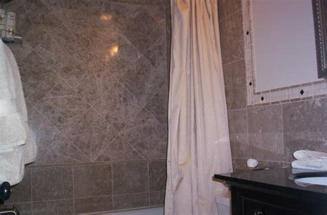 bathtub ledger board question about using a ledger board on a kerdi shower