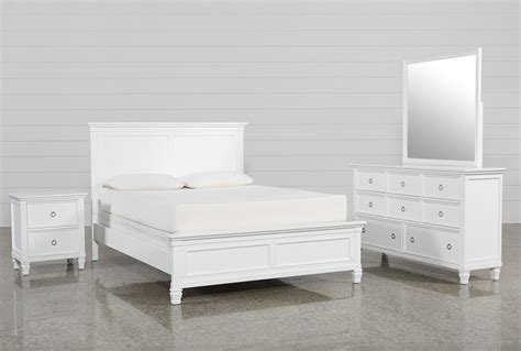 albany queen  piece bedroom set living spaces