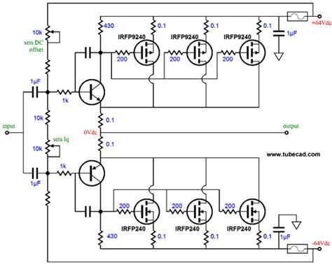 transistor lifier output stage three technologies hybrid lifier