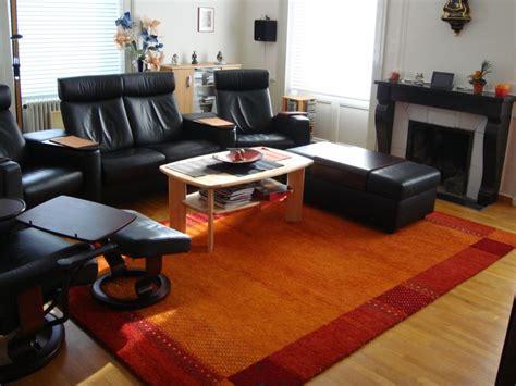 salon noir orange moderne photo 24 murpro salon marron et orange chaios com