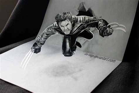 tutorial gambar 3d art 33 of the best 3d pencil drawings bored panda