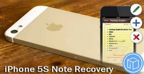 retrieve notes accidentally deleted on iphone 5s