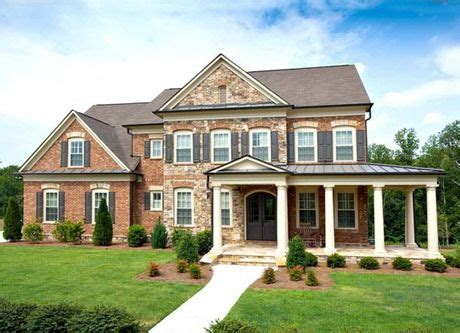 wrap around porch and red brick home pinterest six pillars define a wrap around porch on this brick and