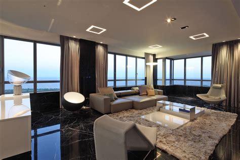 Open Plan Living, Rug, Modern Lighting, Modern Apartment