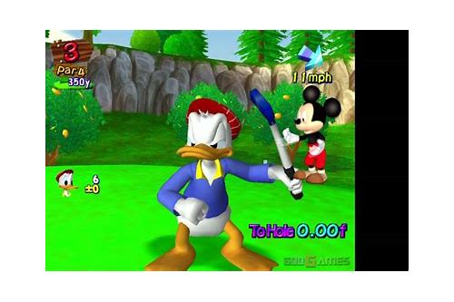 descargar disney golf ps2 gameplay