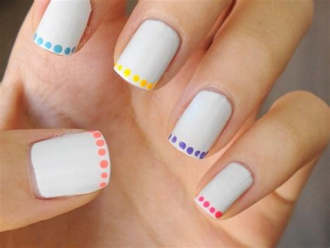 easy nail paint 20 beautiful easy nail ideas to do at home