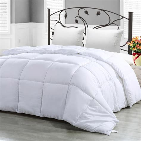what to look for in a down comforter 9 best down alternative comforters 2018