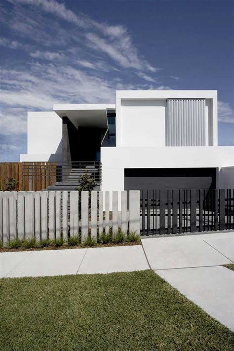 house fence design modern house design with front fence
