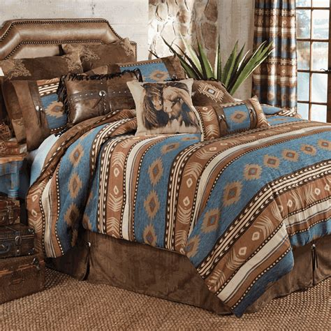 rustic comforter sets king rustic bedding king size sierra bed set black forest decor