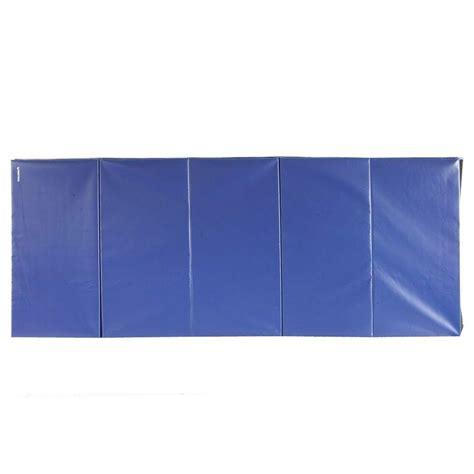 10 By 10 Vinyl Mat - greatmats folding blue 4 ft x 10 ft x 2 in 18 oz vinyl
