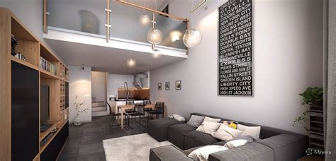 Small Home Design Inspiration | small loft studio interior design ideas