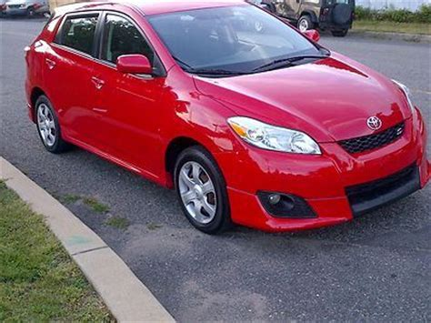 toyota awd hatchback find used no reserve 2009 toyota matrix s awd hatchback