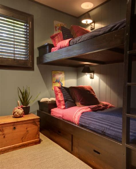 Small Bedroom Decorating Ideas With Bunk Beds 50 Modern Bunk Bed Ideas For Small Bedrooms