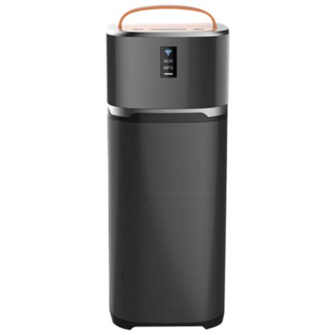 sharper image speaker sharper image 15 watt wireless bluetooth tower speaker