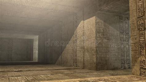 Pyramid Interiors by Pyramid Interior Scifi Stock Illustration Image Of