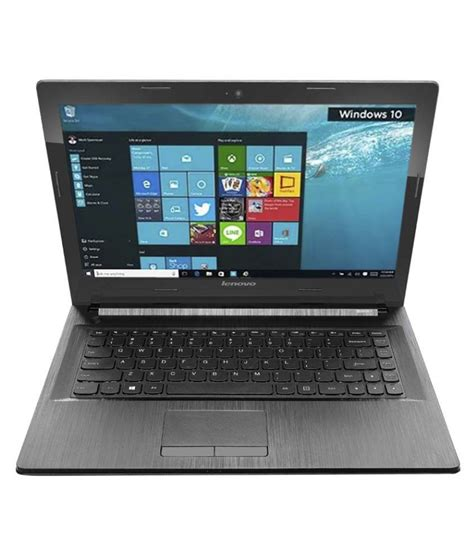 Laptop Lenovo G40 45 80e1 lenovo g40 45 notebook 80e100cyih amd apu a8 4gb ram 1tb hdd windows 10 black g40 45 g4045