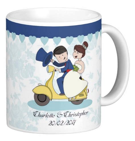 wedding gift mugs wedding custom gift mug and groom gift mug