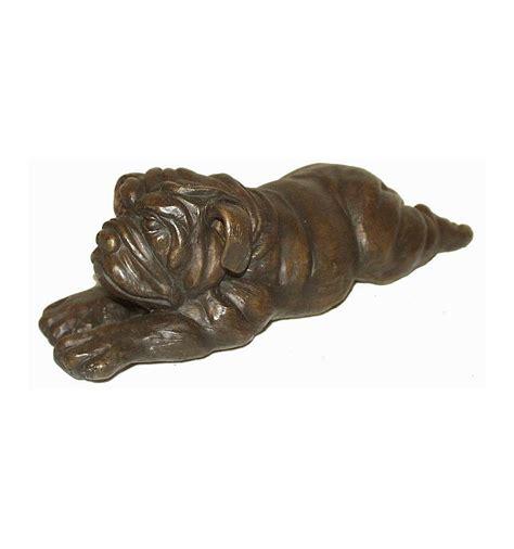 Bronze L 6 chien en bronze brz0163m
