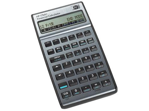Mba Financial Calculator by New Hewlett Packard Hp 17bii 17b Ii 17bll Financial