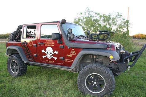 zombie jeep zombie protection vehicle enter for your chance to win