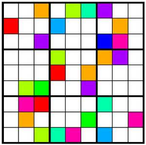 color sudoku andart color sudoku