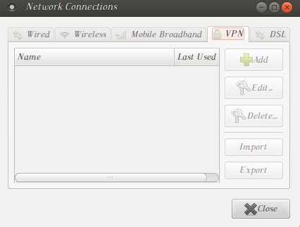 help with quot why do why is the quot add quot vpn button grey ubuntuxchanger
