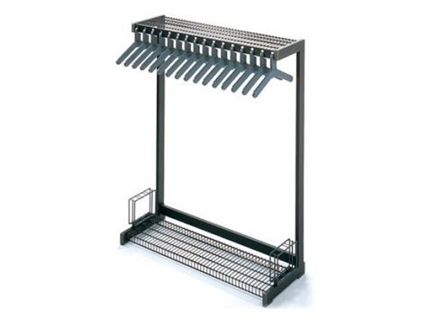 Metal Coat Rack With Shelf by Metal Commercial Coat Rack Boot Shelf Umbrella Rack 4 Coat Hooks Racks