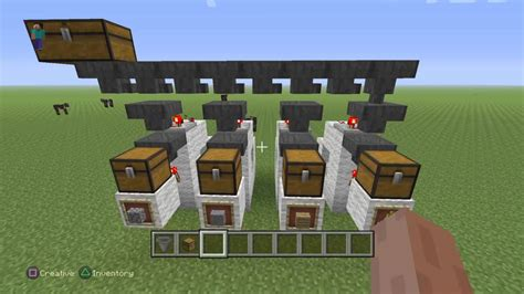 sorting system  minecraft pc ps ps