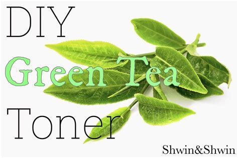 Toner Viva Green Tea diy green tea toner shwin and shwin