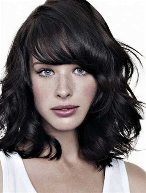 are bangs okay with medium short hair on 50 year old short hairstyles very best medium short hairstyles with