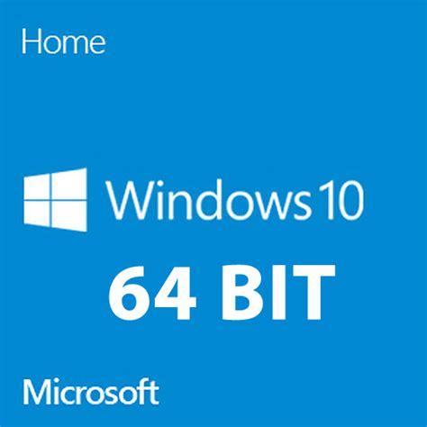 Windows 10 Home 64bit microsoft windows 10 home system builder oem dvd 64 bit