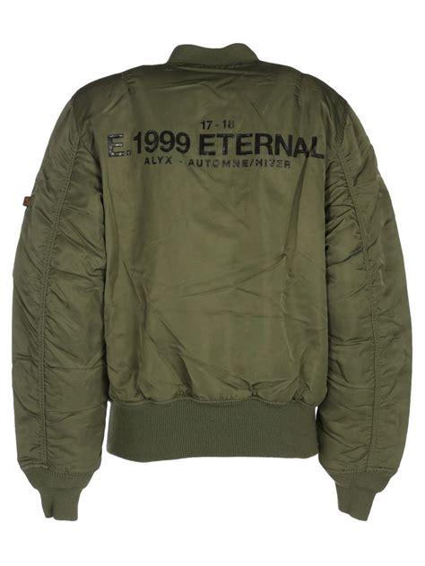 Bjl Jaket Atau Sweater Bomber Polos alyx alyx bomber jaket green s coats jackets italist