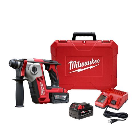 milwaukee m18 18 volt lithium ion 5 8 in cordless sds
